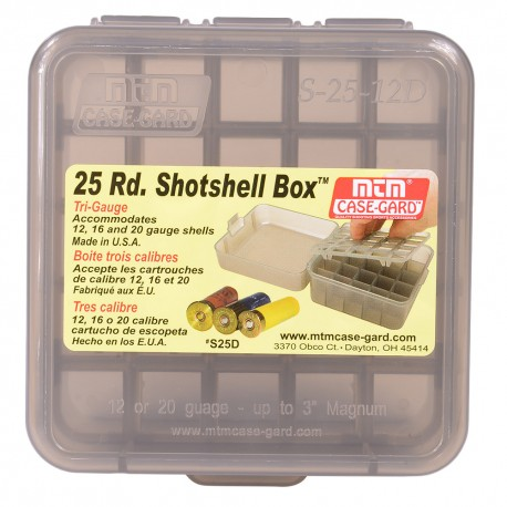 Pudełko MTM Case-Gard  25 Rd. Shotshell Box