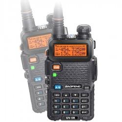 Baofeng UV-5R Radiotelefon PMR Duobander PTT
