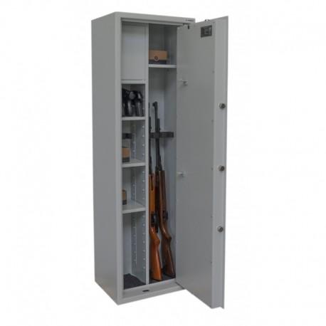 Szafa na broń Gun Guard 5 optic /w z przegrodą COMBO III