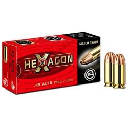 Amunicja GECO .45 AUTO HEXAGON