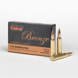 Amunicja PMC Bronze .223 Rem. 3,6g/55gr FMJ-BT