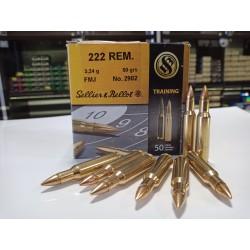 Amunicja Sellier&Bellot 222 REM FMJ 3,24g