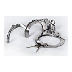 Kajdanki metalowe ze stali nierdzewnej