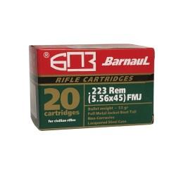 Amunicja karabinowa Barnaul .223 Rem FMJ 55 gr / 3.56 g