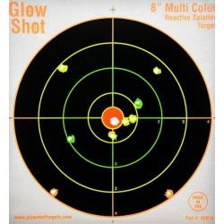 Tarcze reaktywne GLOW SHOT 22x22 cm