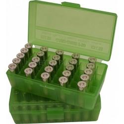 Pudełko na amunicję krótką P50-38-16 MTM (50szt,38Spec,357M...)