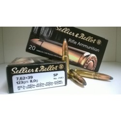 Amunicja Kulowa Sellier & Bellot 7,62x39 SP 8,0 gr